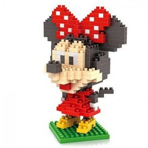LOZ Diamond Blocks Nanoblock Minnie Mouse Toy