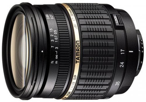 Tamron SP AF 17-50mm F/2.8 XR Di II LD Aspherical (IF) Lens with hood