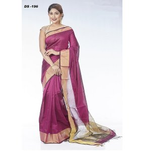 Hafl Silk saree DS-196