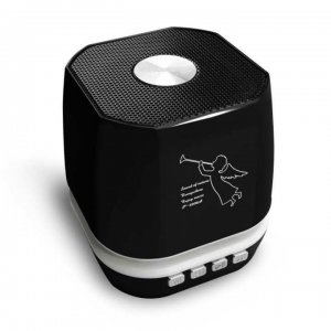 """Wireless speaker bluetooth with led light T-2306A - Black"