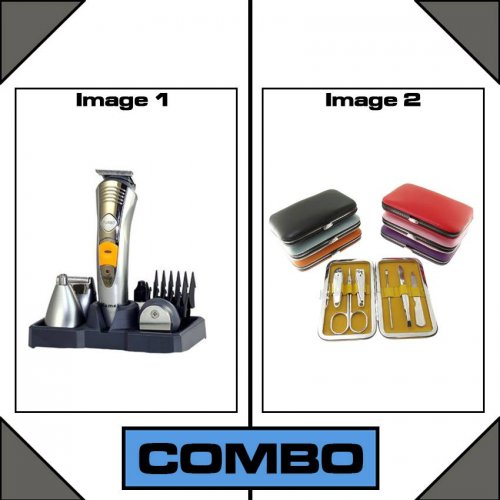 Combo of 7 in 1 Trimmer & Manicure Pedicure Set