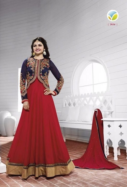Vinay kaseesh prachi salwar suits 3934d