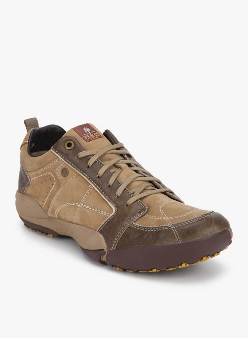 ORIGINAL Woodland Men's Casual Shoes KHAKI