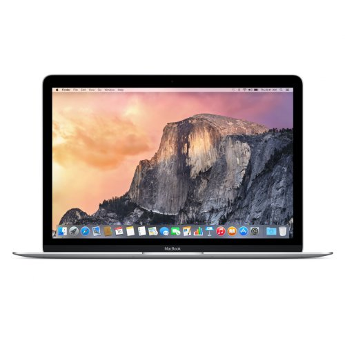 MacBook 12-inch 1.2GHz Dual core Intel core M-/8GB/512GB FLASH Storage SILVER (MF865ZA/A)