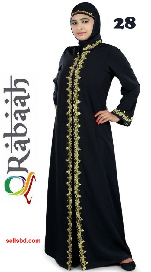Fashionable muslim dress islamic clothing Rabaah Abaya Burka borka 28