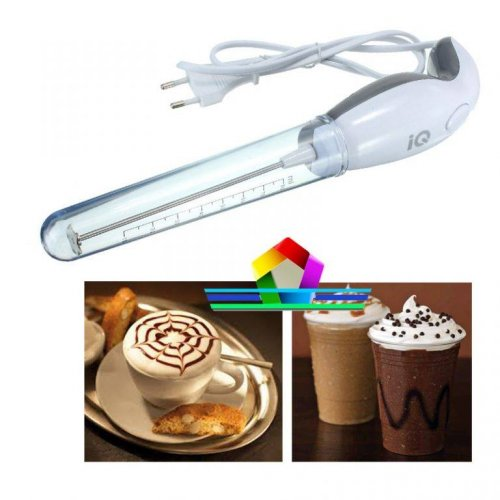 ELECTRIC COFFEE FOAMER & FRAPPE MAKER