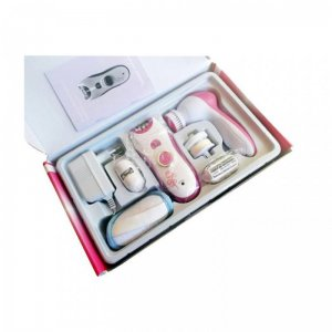 Lady Beauty Set 6 in 1 Shaver Trimmer & Facial