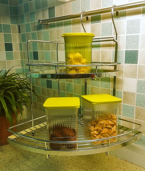 WellMax Double Corner Rack