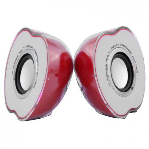 Apple Shaped USB Powered Mini Speaker