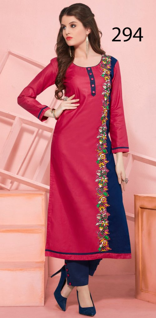 Latest Designers Kurti party wear ladies salwar suits 294