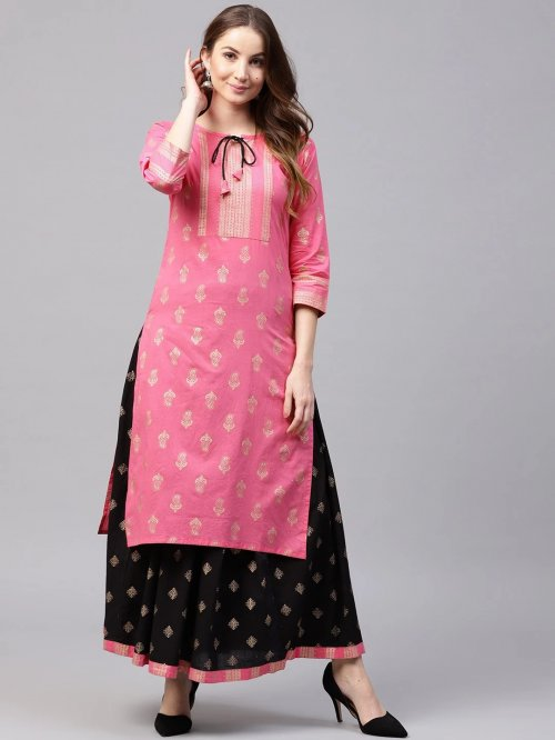 Latest Block Printed 2 pieces Salwar Kameez for Women rb-60