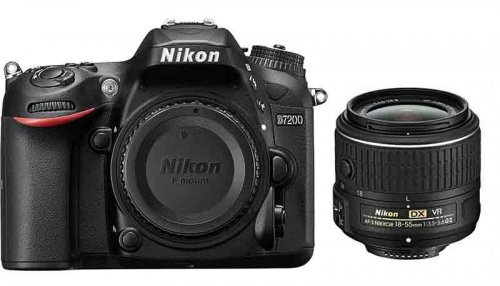 Nikon D7200 with 18-55 VR II Lens