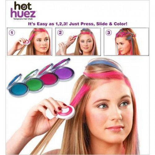 TV Hot Huez Temporary Hair Chalk