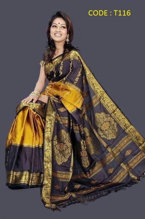 Pure Soft Silk Saree t116
