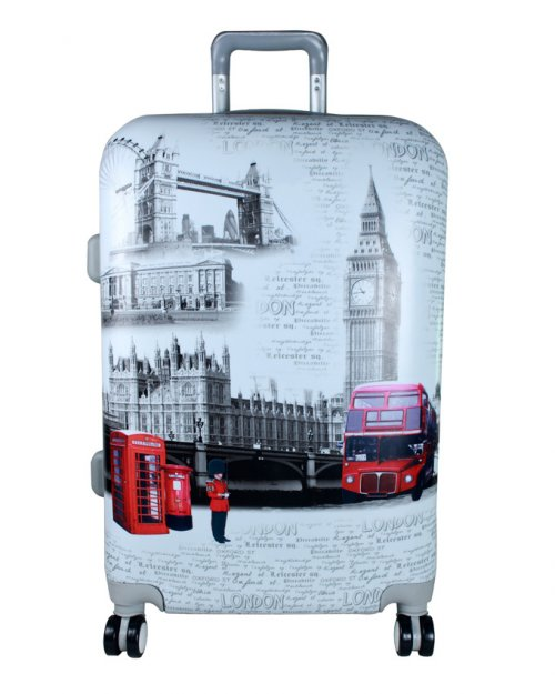 ROLLING SPINNER WHEELS SCRAWL TROLLEY SUITCASE LUGGAGE 2