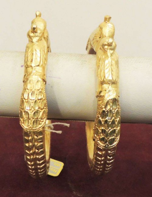 Exclusive smart lady Gold plated special Ornaments mbt-703