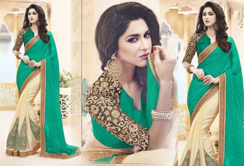 Weight Less Georgette saree SS-478