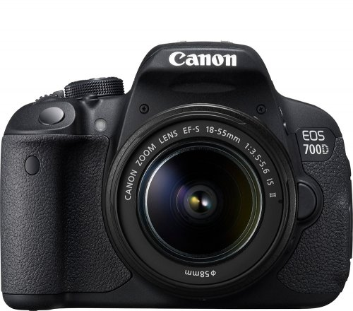 Canon 700D with 18-55 IS II Lens