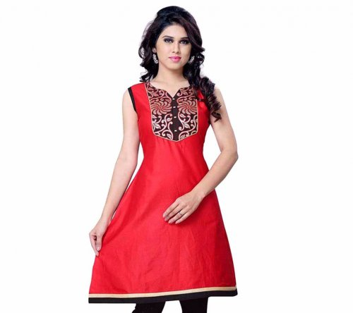 Ladies Embroidery cotton kurta