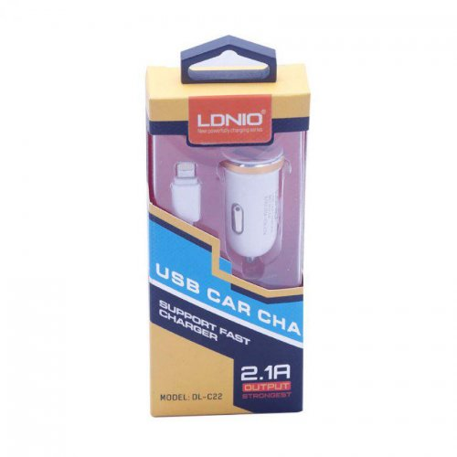 Ldnio Dual USB Car Charger for iPhone