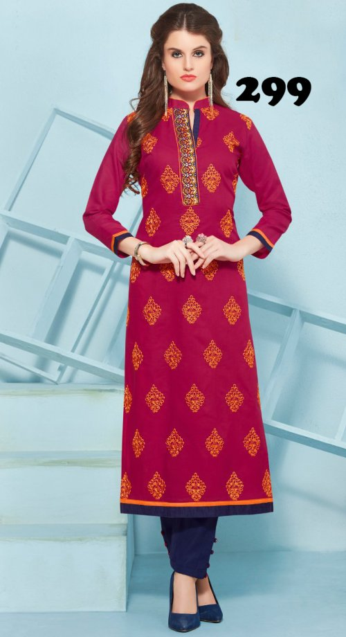 Latest Designers Kurti party wear ladies salwar suits 299