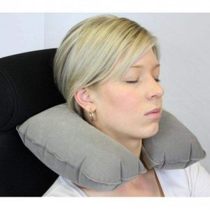 Inflatable Air Travel Pillow Travel Neck Pillow
