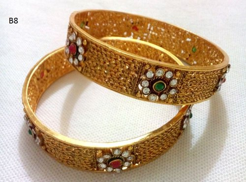 Gold Plated jewelry ornaments Bangles B-8