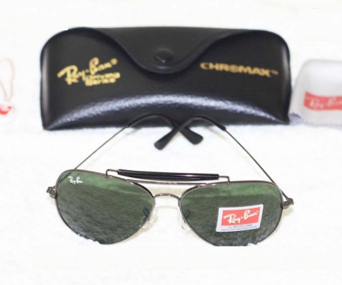 Ray Ban Gents Mercury Black Sunglass Replica SW4036