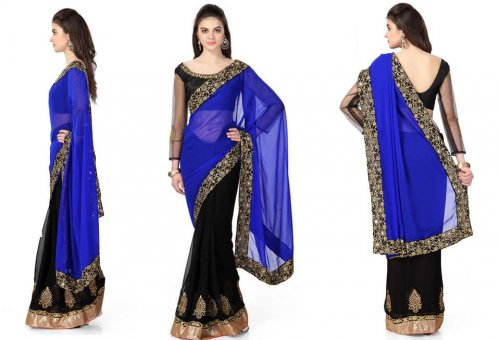 Weight Less Georgette saree SS-80
