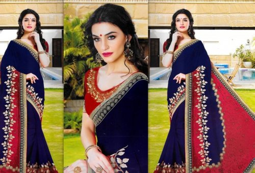 Weight Less Georgette saree SS-462