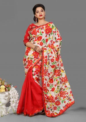 Cotton Kota Butics Saree for Woman bois-300