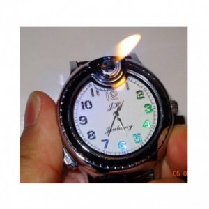 Watch Lighter with LED Light
