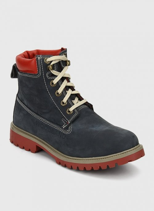 ORIGINAL Woodland Casual Boots NAVY