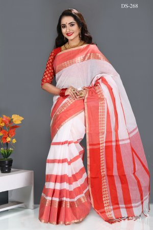 cotton saree for woman bois-268