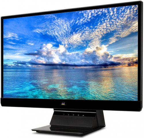 "ViewSonic 21.5"" Wide Color TFT Active Matrix IPS LED/DVI/ Full HD 1920x1080 resolution."