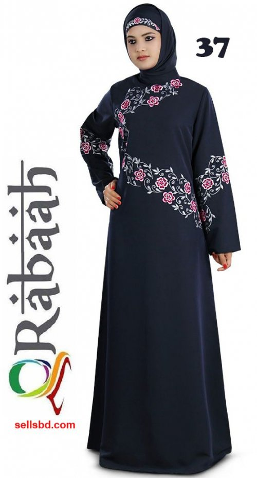 Fashionable muslim dress islamic clothing Rabaah Abaya Burka borka 37