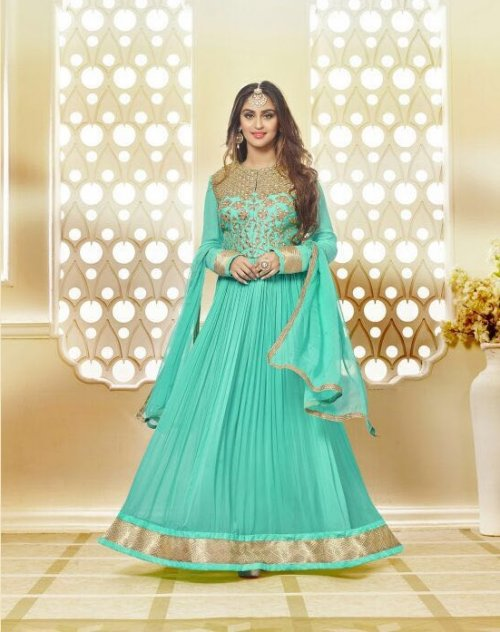 Vishnu Nazma Anarkali Party Wear Suit