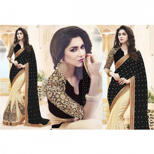 Weight Less Georgette saree SS-478-1