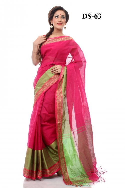 Boishakhi tat cotton Saree Bois-63
