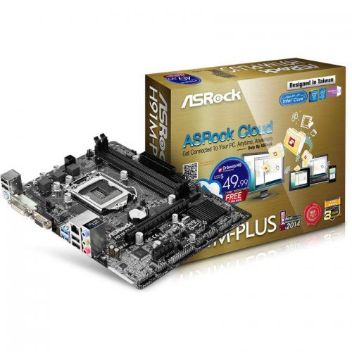ASRock H91M-PLUS Motherboard