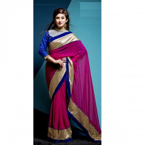 Weight Less Georgette saree SS-149