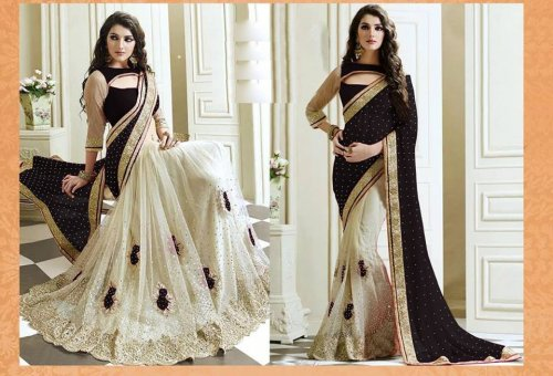Weight Less Georgette saree SS-578