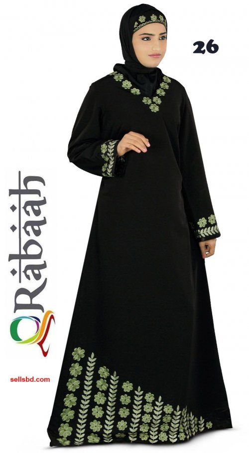 Fashionable muslim dress islamic clothing Rabaah Abaya Burka borka 26