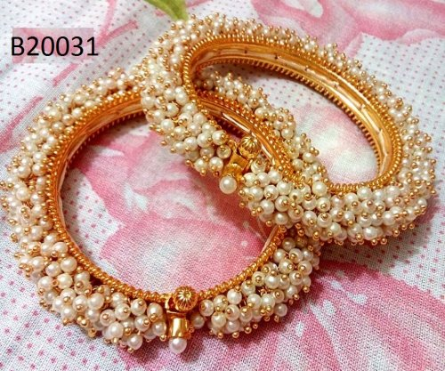 Gold Plated jewelry ornaments Bangles B-20031 (2 pcs)