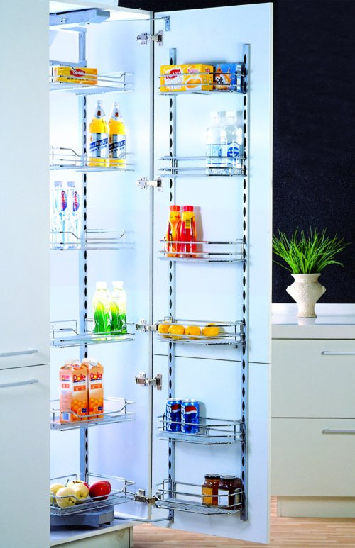 WellMax Large Six-Layer Magic Corner Kitchen Rack