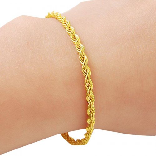 24K Gold Plated Men's Bracelet
