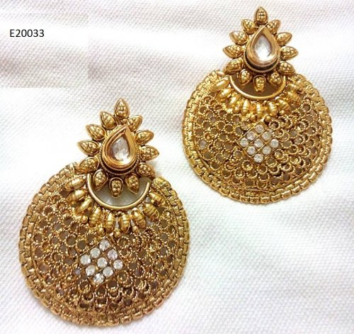 Gold Plated jewelry ornaments Earrings E-20033