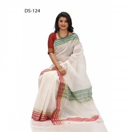 tat cotton saree ds-124