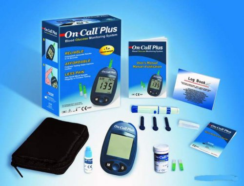 Acon On Call Plus Blood Glucose Meter Diabetic Checker