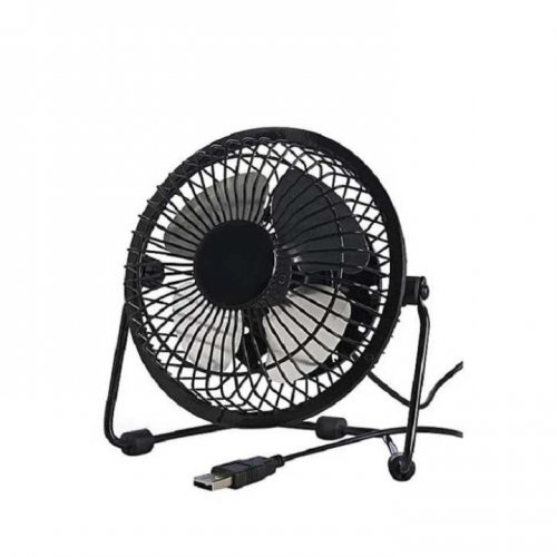 """Nobin Portable USB Desk Fan - Black """